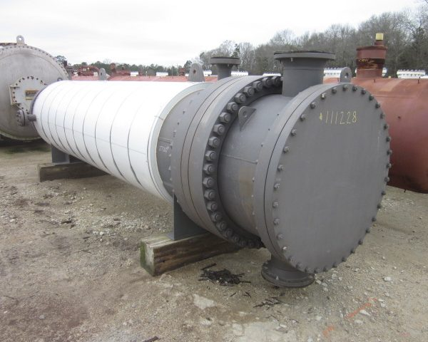 3120 Sq. Foot Horizontal Shell and Tube Heat Exchanger