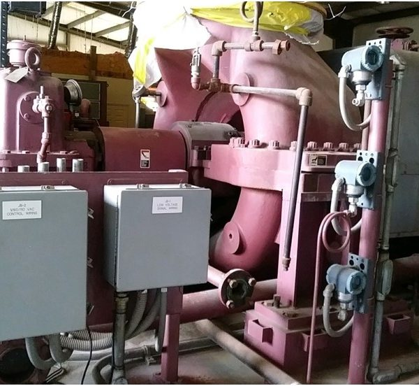 Used 2500KW 250 PSI  Condensing  Steam Turbine Generator