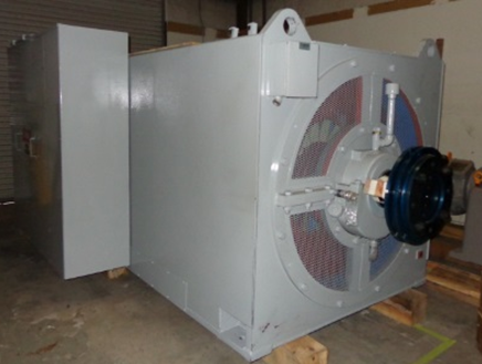 7000 KW 4160 Volts Ideal Generator End