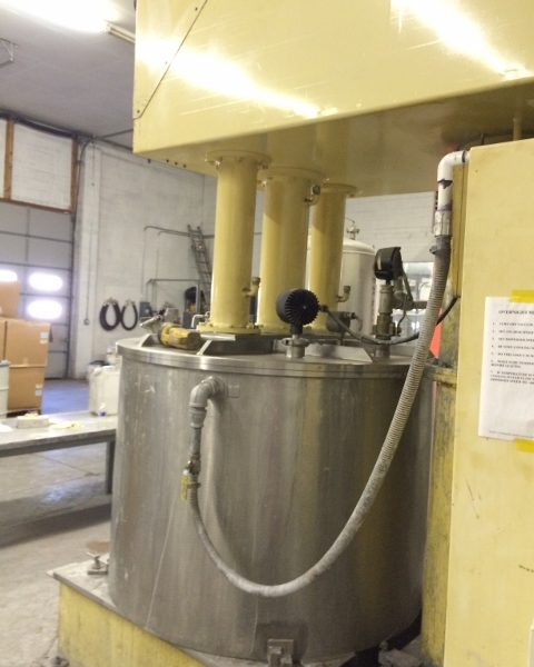 398 Gallon Ross Stainless Steel Triple Motion Mixer