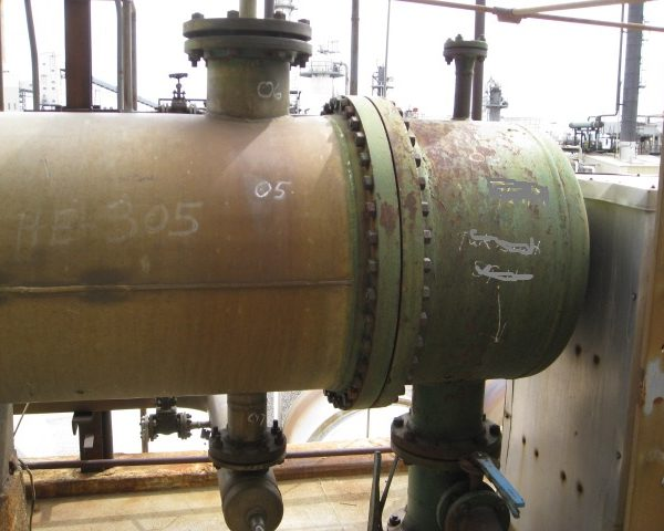 2240 Sq. Foot Western Supply Shell and Tube Heat Exchanger