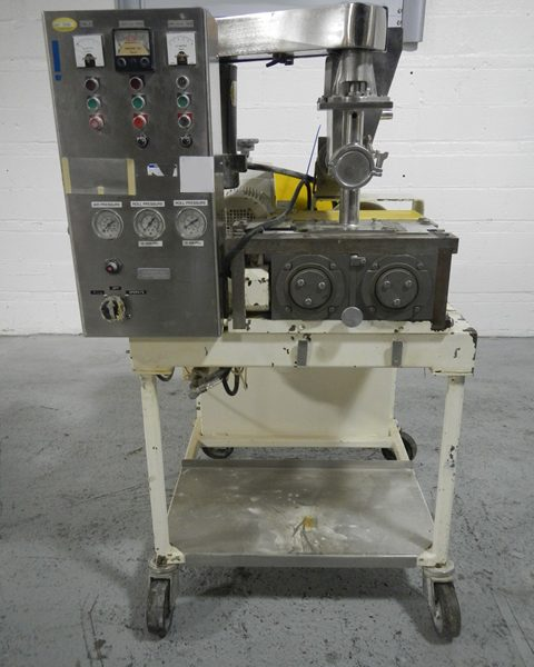 8″ X 1.5″ Fitzpatrick Model L83 Stainless Steel Chilsonator Roller Compactor