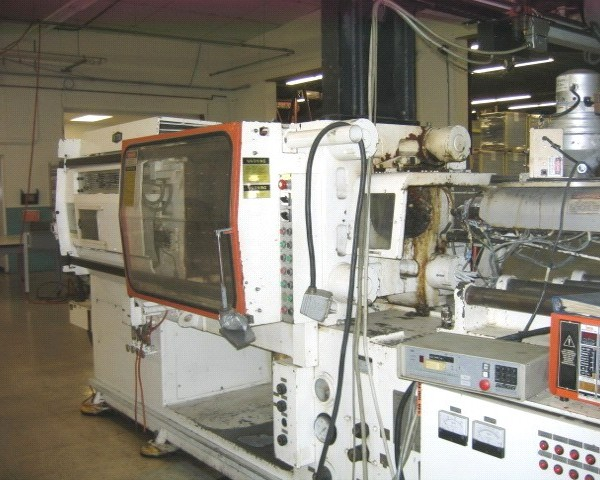 165 Tons 6.2 Oz. Shot Sumitomo Nestal 2-Color Injection Molder