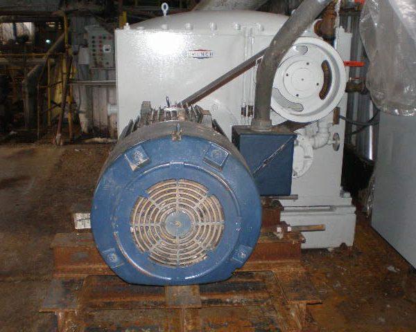 14″ Diameter French Oil Dewatering Press