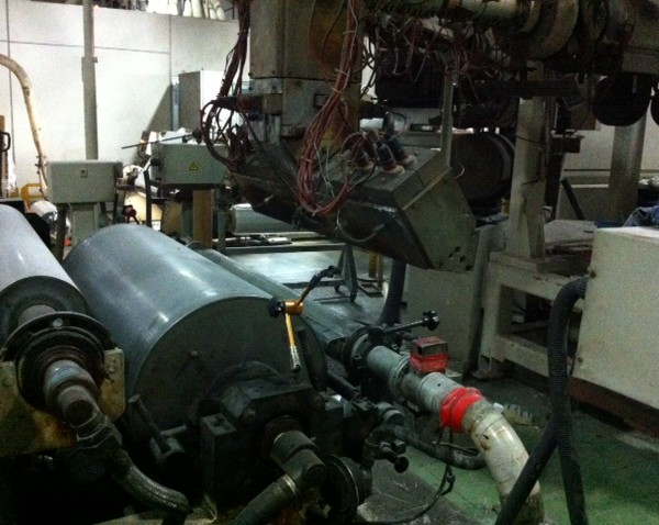 33″ Wide Combination Cast Film Line and Vacuum Metallizer Package