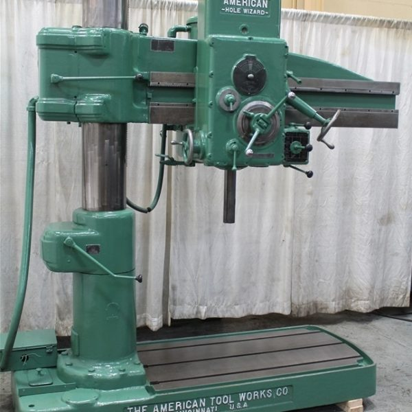 3′ X 9″ American Radial Arm Drill