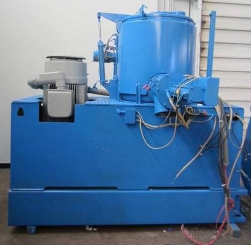 600 Liter LIttleford Model W600 High Intensity Mixer Cooler Combination