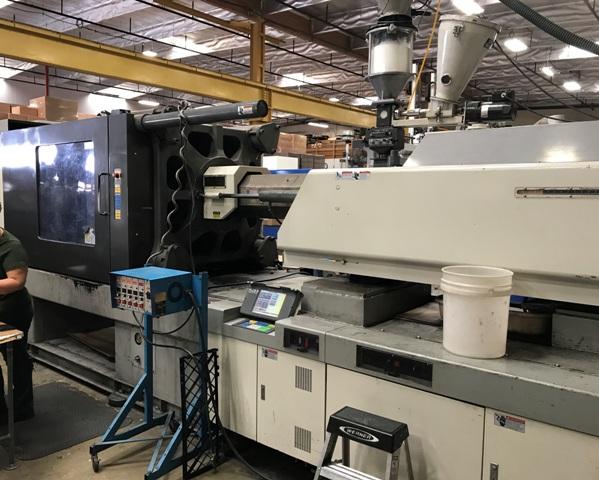 500 Ton 80 Oz. Shot Toyo Injection Molding Machine