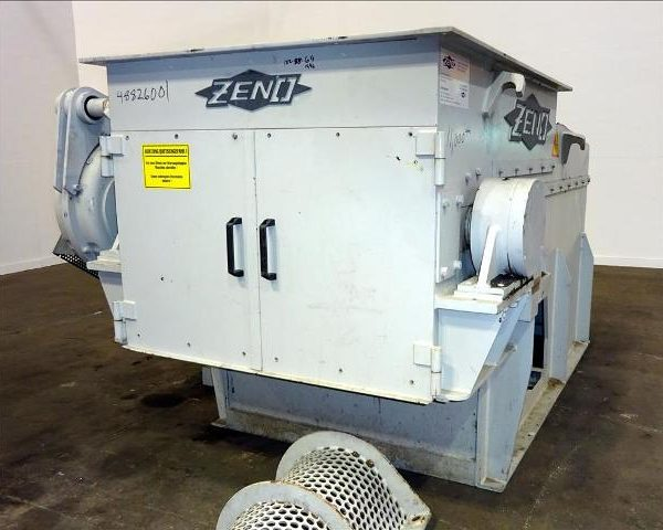 46 HP 47″ Zeno Single Shaft Shredder