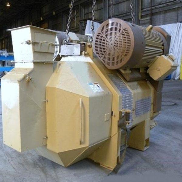 400 HP Bliss BR-2000D-250 Pioneer Series Pellet Mill