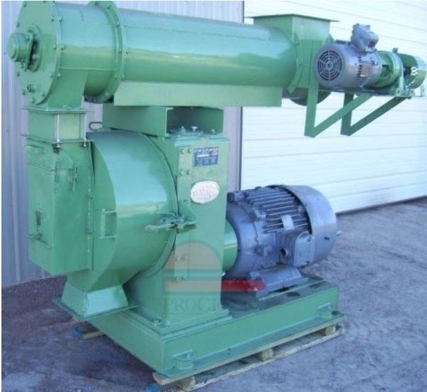 100 HP California Pellet Mill Century Model Pellet Mill
