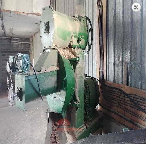 100 HP California Matrix/Century Model Pellet Mill