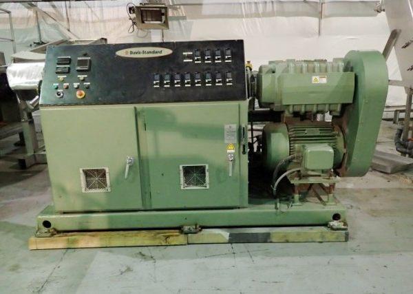 61mm Davis Standard Conical Twin Screw Extruder