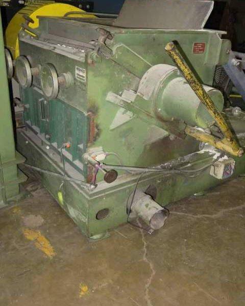 125 HP 28″ X 38″ Herbold Model SMS60/100H5-3 Granulator