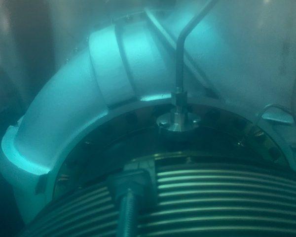 Unused Kawasaki 2400 KW GasTurbine Toshiba Generator 6600V 60Hz