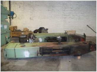 196″ Wide Clupak Roll Press Dismantled