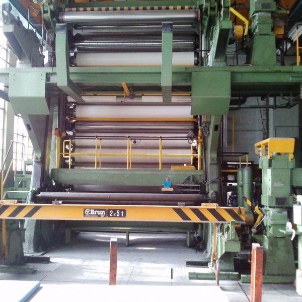 3400mm Wide Bruderhaus Paper Machine Calender