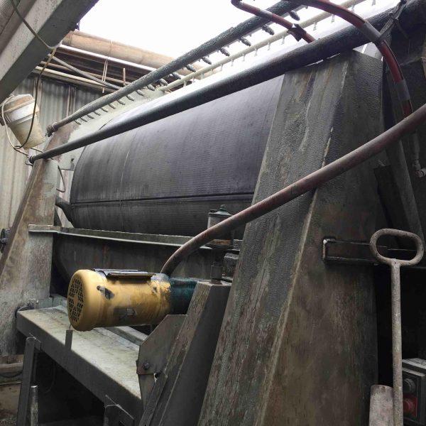 10′ x 6′ Dorr Oliver Rotary Vacuum Filter Dreggs Type