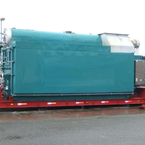 75,000 #/Hour 350 PSI Nebraska Package Watertube Boiler