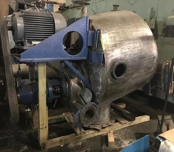 Fiberprep Size II Scavenger Separator Stainless Steel