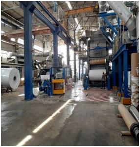85″ (2.32m) 45 T/D Crescent Forming Tissue Machine for Toilet Paper & Towel Paper
