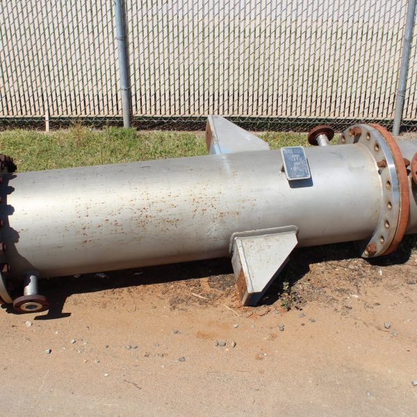 400 Sq. Ft. Ward Tank Shell and Tube Heat Exchanger